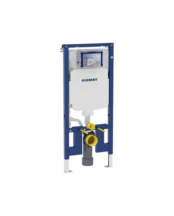 Bastidor autoportante de Gerabit Duofix con cisterna empotrada Sigma 8 cm, altura 114 cm